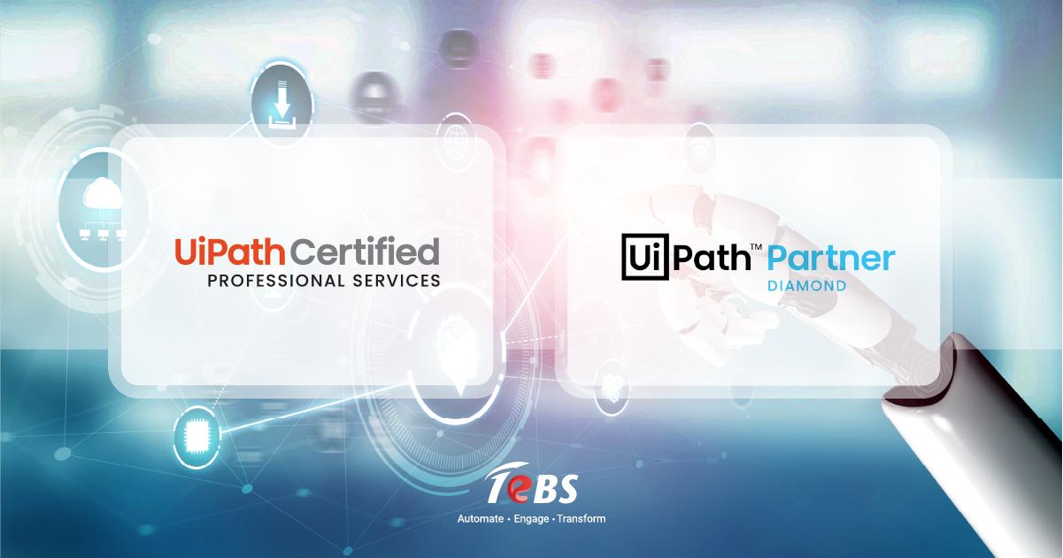 tebs is uipath certified/partner